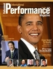 performance magazine cover
